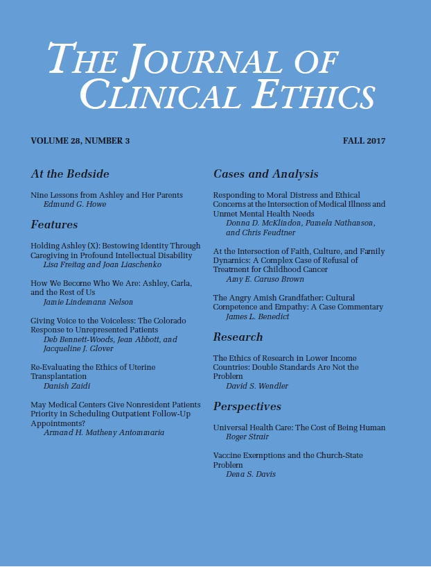 Journal of Clinical Ethics