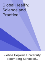 Global Health : Science and Practice